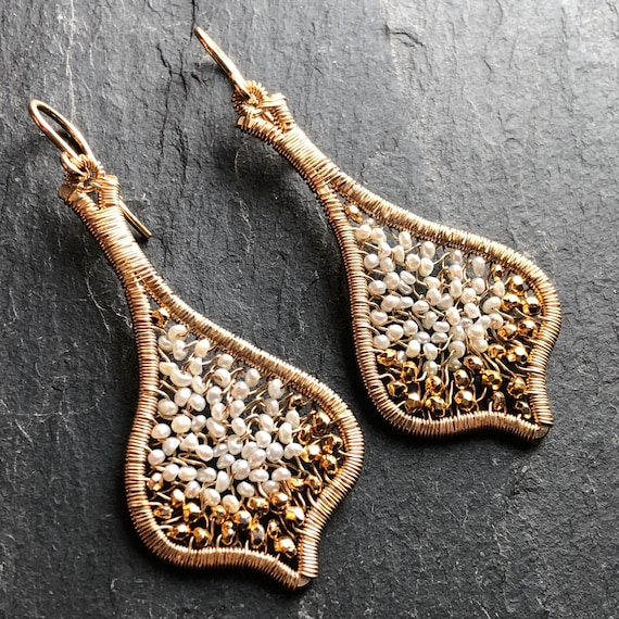 Dew Drops Earring