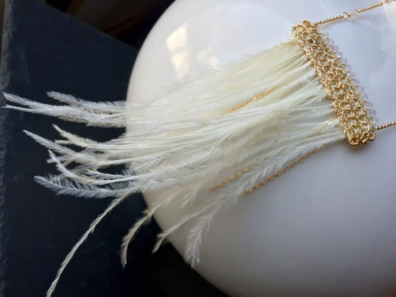 Daisy Necklace in Ivory