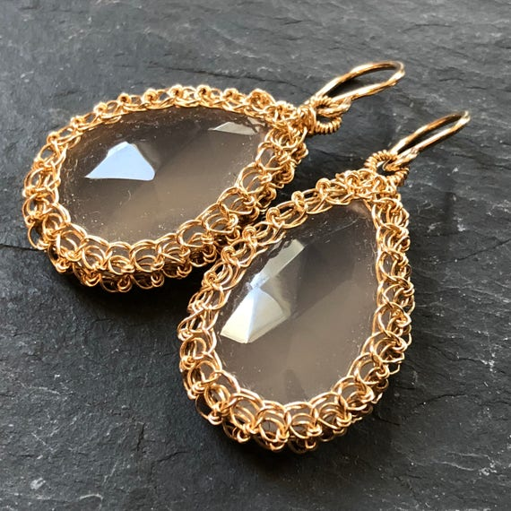 Moonstone Nest Earrings