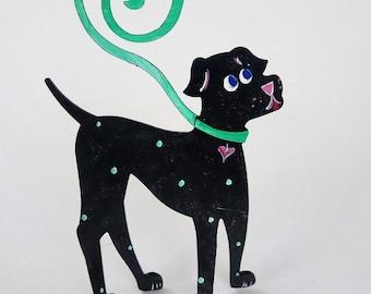 Dog Walker Photo or Business Card Holder