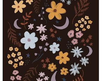 Night Garden Fine Art Quality Print