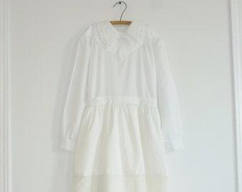 Vintage White Juniors Dress