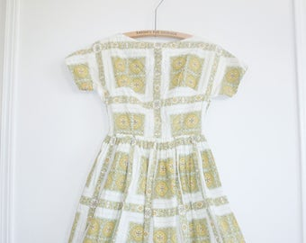Vintage Junior Girl's Dress
