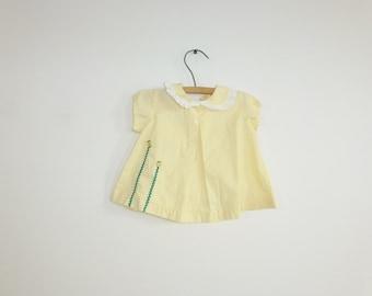 Vintage Yellow Swing Top