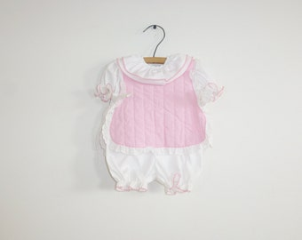 Vintage Apron Top Baby Outfit