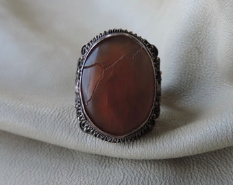 antique ring chinese export ring antique stone ring antique chinese copper ring antique copper ring red stone ring