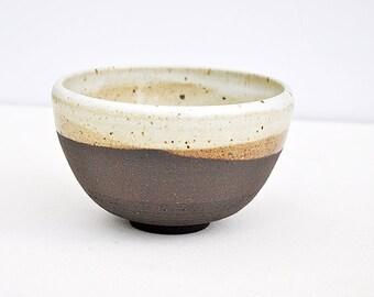 Wheel Thrown black mountain clay bowl