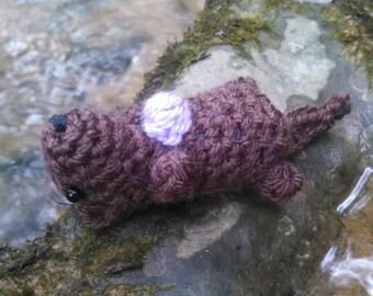 Bitty Otter Crochet Pattern - easy amigurumi PDF