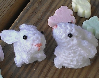 Mini Bunny Pattern PDF - crochet amigurumi rabbit