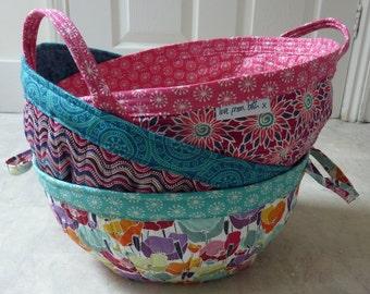 Project Baskets PDF sewing pattern