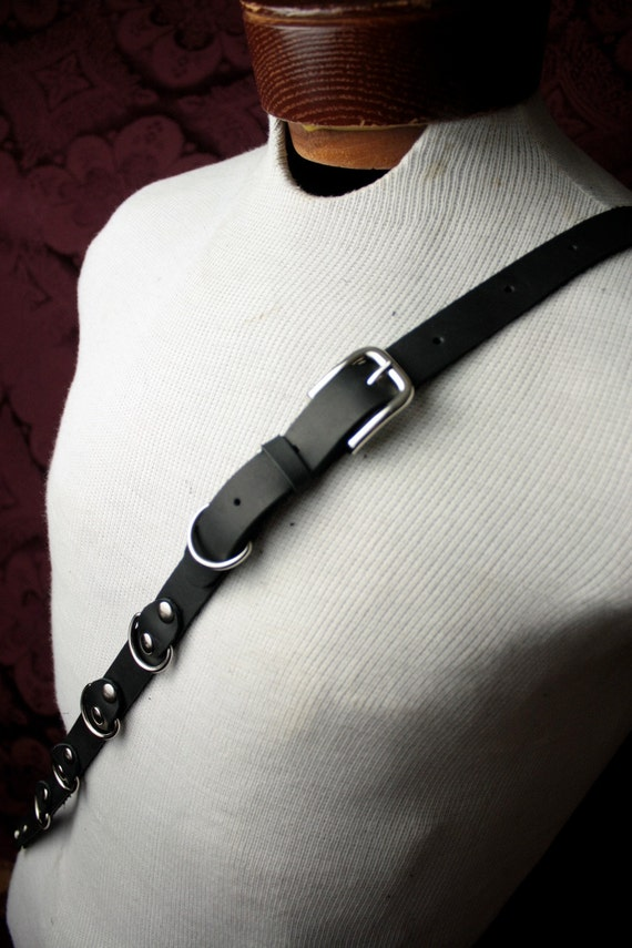 Buckle-Down Suspenders-Soft Kitty Face Close-up Gray