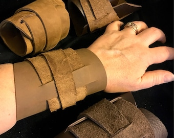 Rey Leather cuff bracelet leather wrap bracelet inspired by Reys bracelet