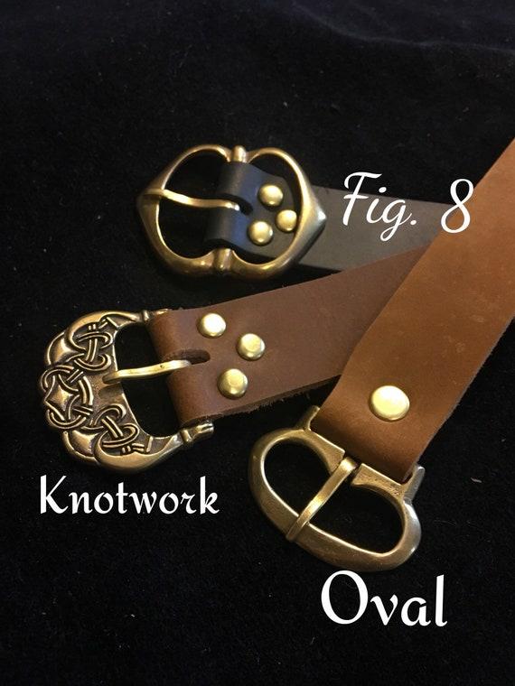 444715e99521 Médiéval en cuir ceinture 1 large Long Viking   Etsy