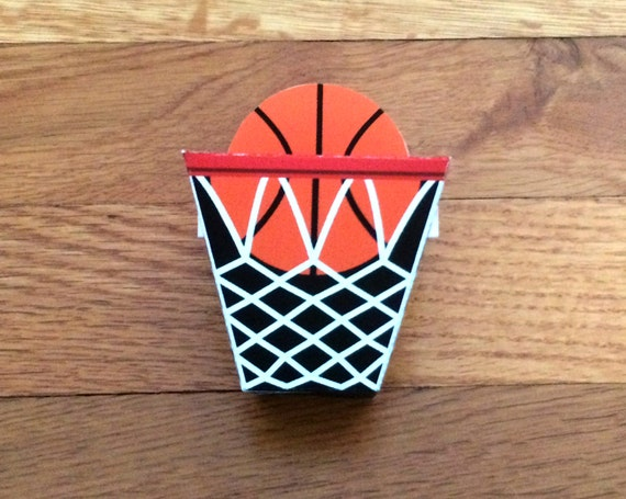 Basketball Party Favor Box DIY Printable file Craft