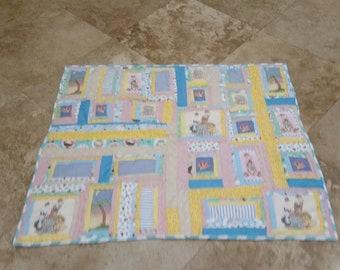 Animal block quilt