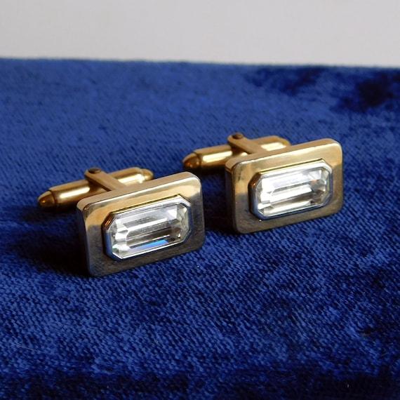 Vintage 12kt Gold Filled Cuff Links K K Flex Let