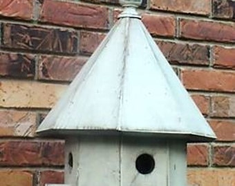 Hand Crafted Octagon Birdhouse
