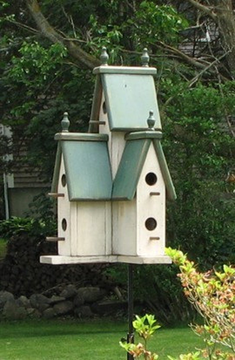 Large Victorian Birdhouse image 1
