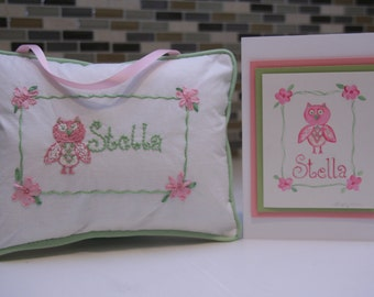 Pillow Name Signs CUSTOM