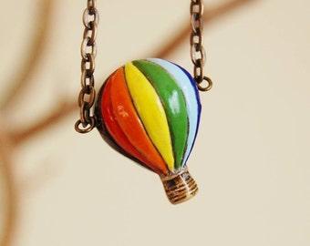 The Hot Air Balloon Necklace