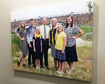 Photo Canvas Wraps - Photo Printing - Picture Gallery Wrap - Family Photos - Wedding Photos - Landscape Photos