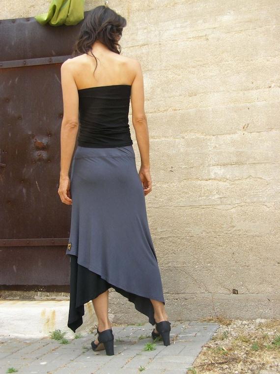 gift for women Maxi skirt plus size skirt knit skirt boho skirt clothing gift entrelac skirt bohemian skirt hippie skirt