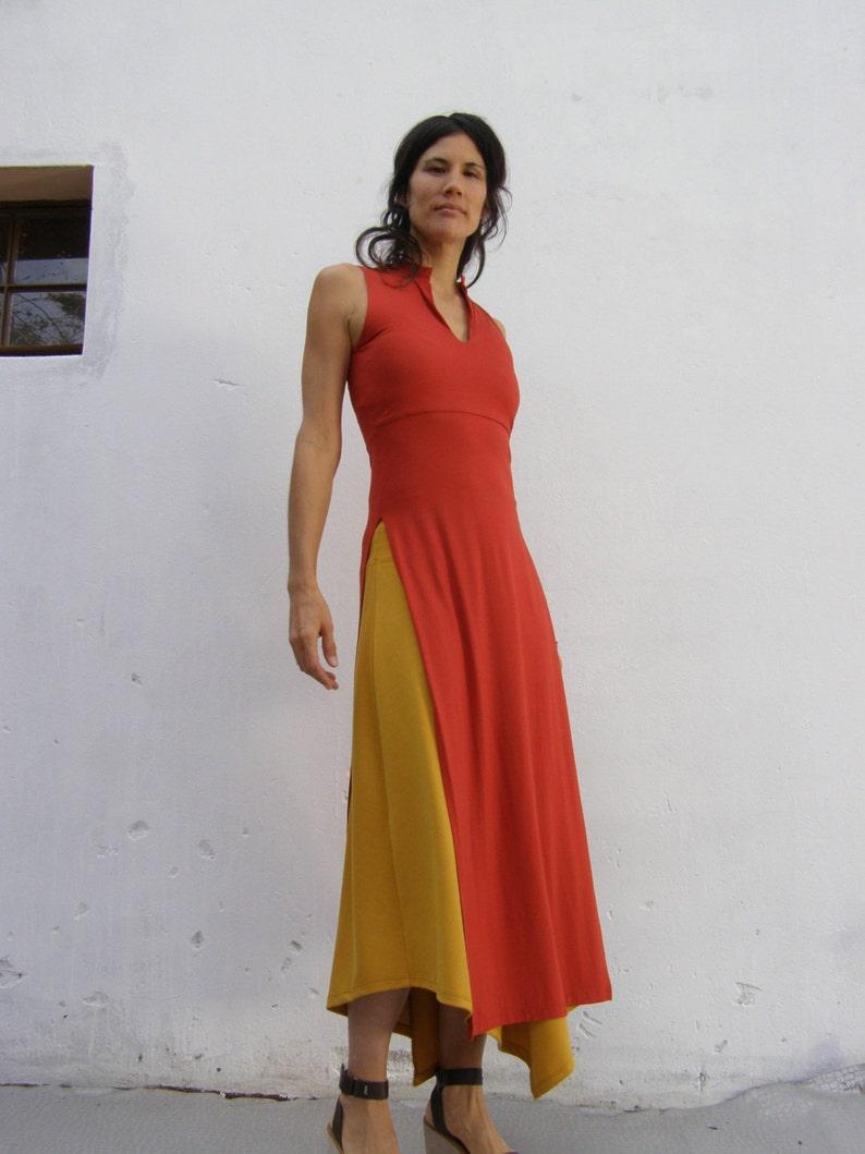 355f6e27fe995 Asian Maxi Dress Tunic Summer Dress Tunic Womens Sleeveless