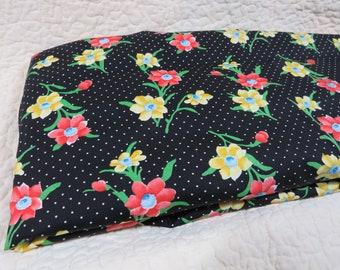 45W X BTY; patchwork squares cotton fabric Vintage Lightweight Cotton SCHWARTZ LIEBMAN 3 12 Pastel Squares Fabric