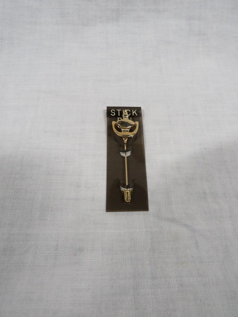 Door Knocker Stick Pin Retro nos Vintage