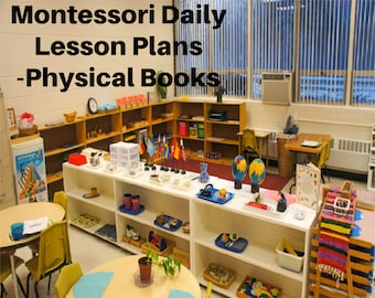 The complete 12 month Montessori curriculum Daily Lesson Plan Step by Step AMS integration all 9 albums PLUS DETAILED Art Cooking Song Yoga