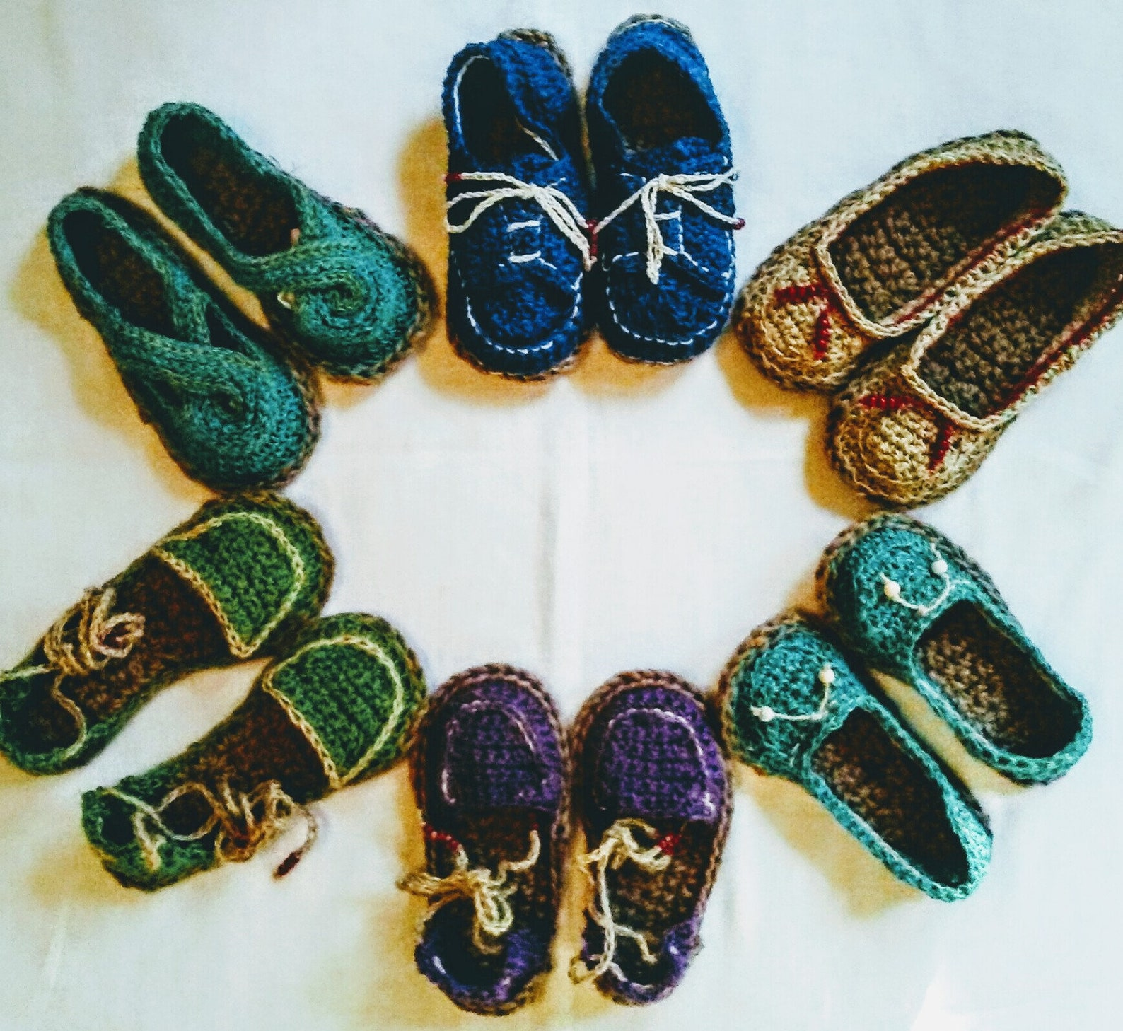 handmade espadrille ballet style with crocheted jute