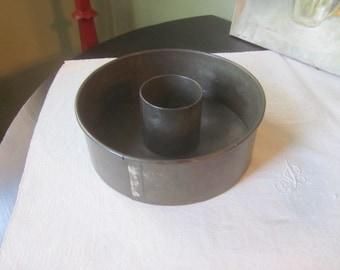 Vintage Tin Angel Food Cake Pan