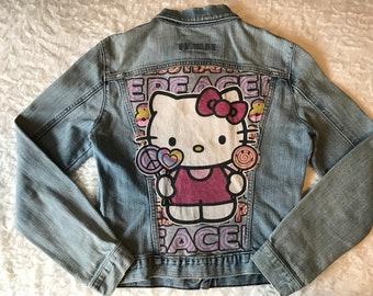 f76434faf Hello kitty jacket | Etsy