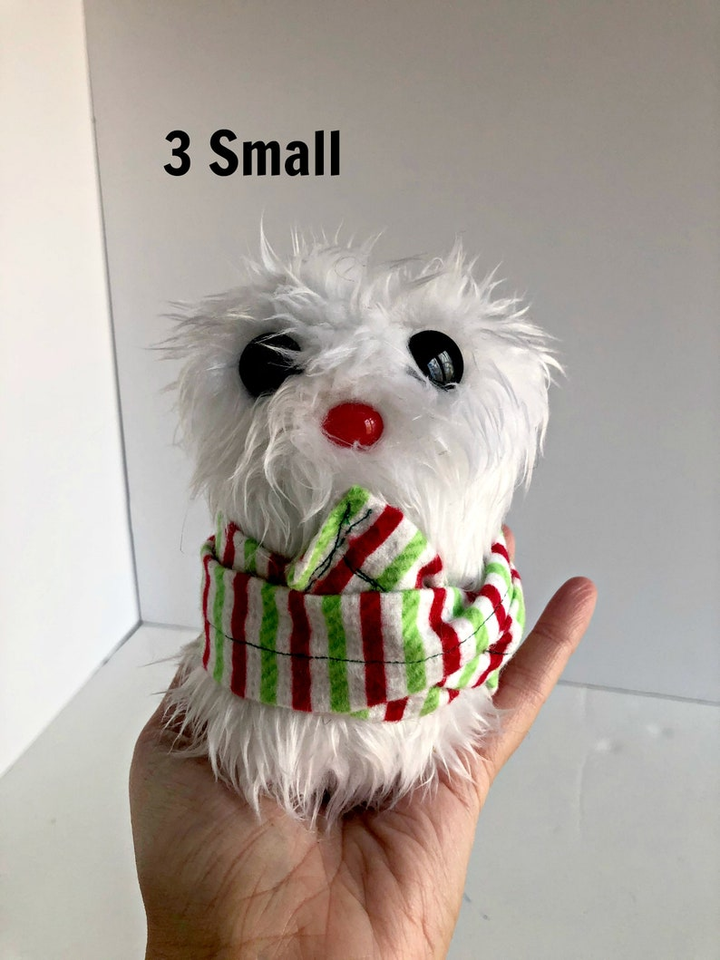 Plush Snowman  Snowman Plush  Christmas Snowman  Scarf image 0