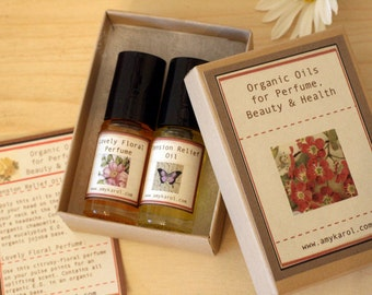 A Customized Boxed Set: Any Two Roll-on Oils