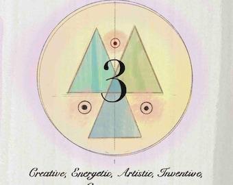 Numerology Life Path #3 Print