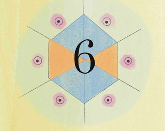 Numerology Life Path #6 Print