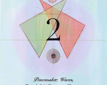 Numerology Life Path #2 Print
