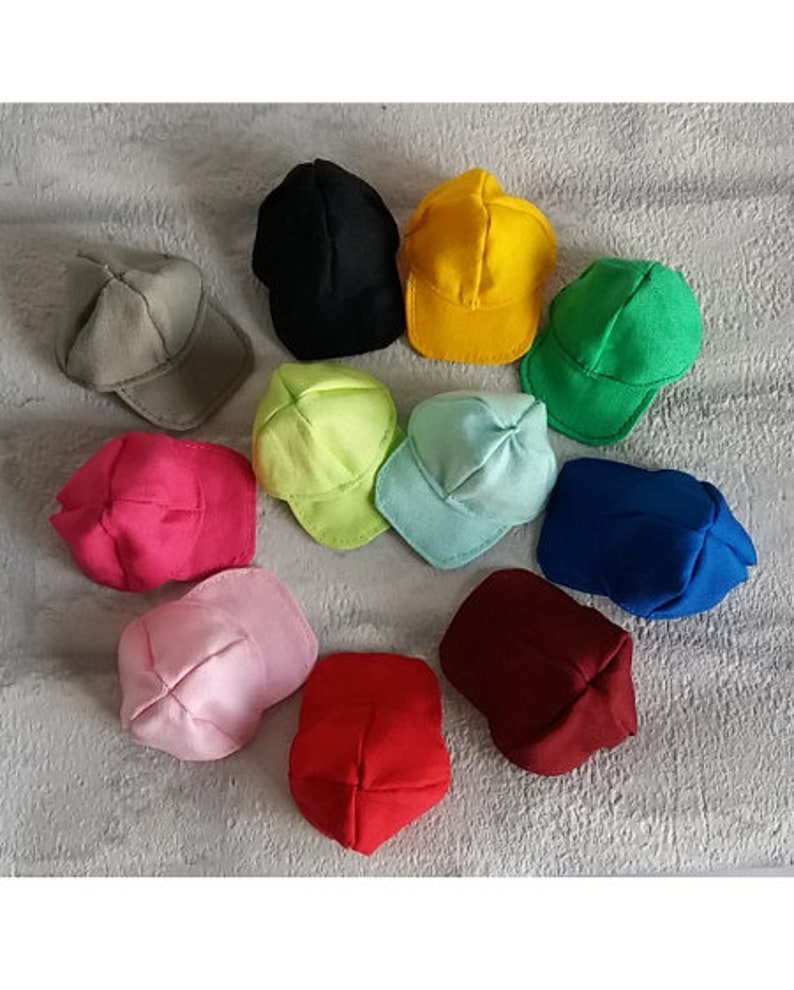 Cap for Barbie or Ken doll lots of colors image 0