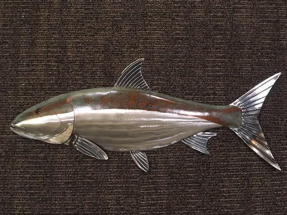 Bone Fish 24in Metal Wall Art FREE SHIPPING in the US