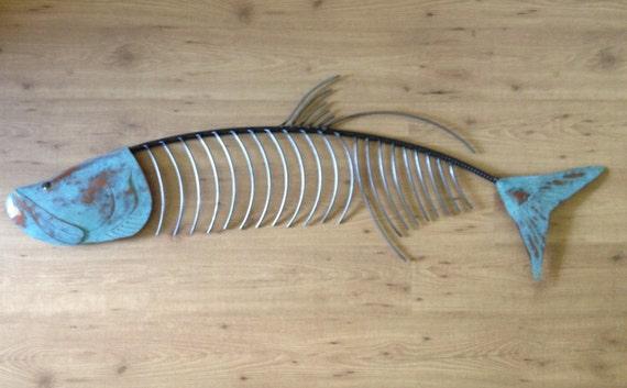 Tarpon Fish 60in  Metal Wall Art FREE SHIPPING in the US