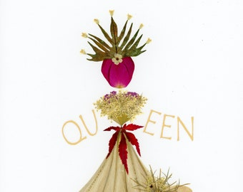 QUEEN Notecard