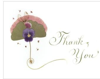 GINGKO THANK YOU notecard