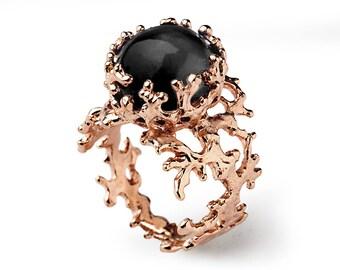 Coral Gemstone Rings