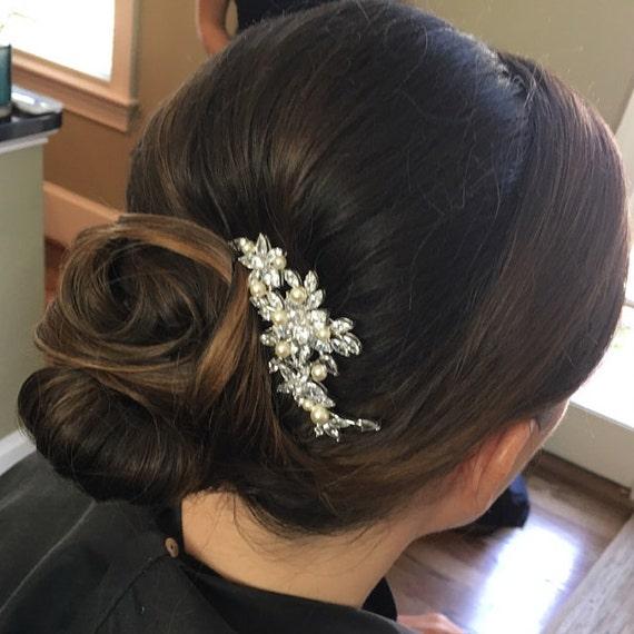 Mini haarkrebse strass épingle à Cheveux Coiffure Mariage Mariée coiffure épingle