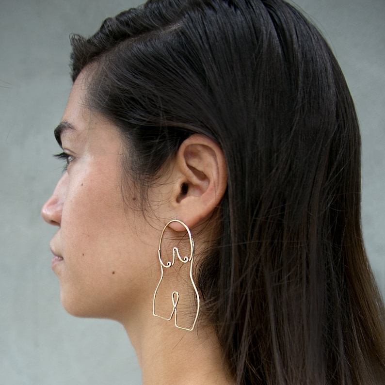 Figure Earrings image 0