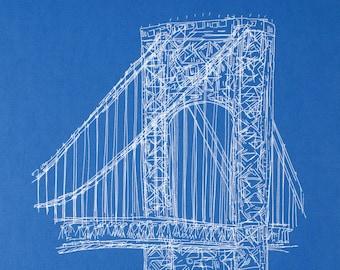GW Bridge print