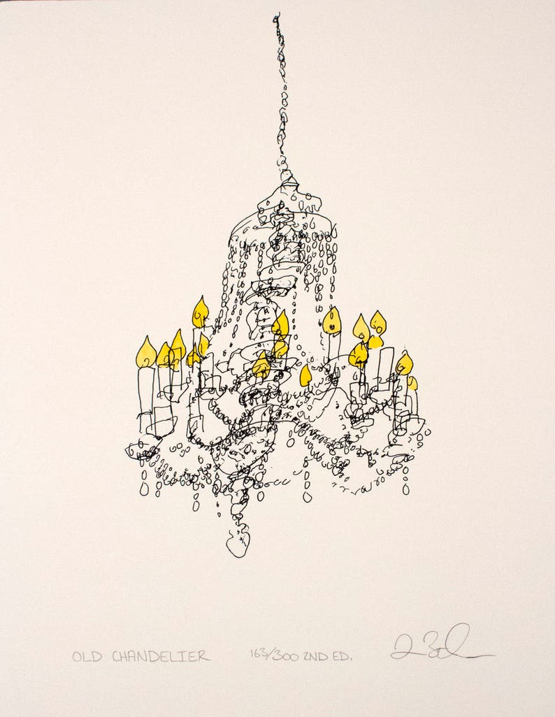 Old Chandelier in St. Paul's Cathedral New York City image 0