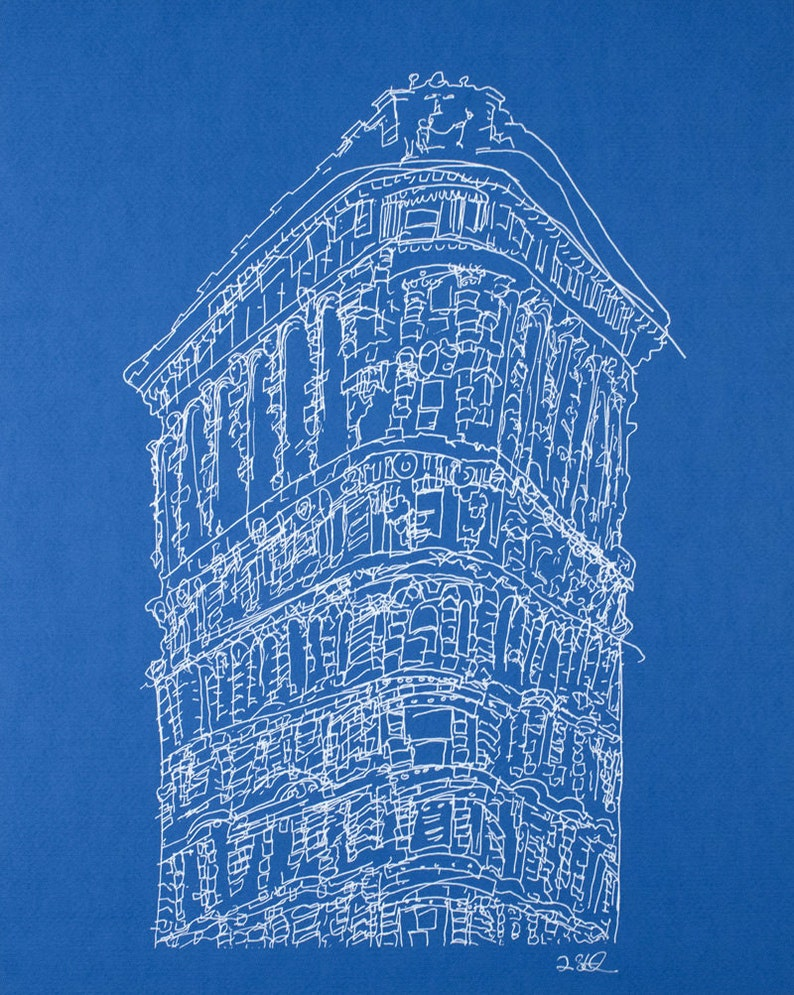 Blue Flatiron Building image 0