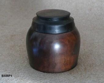 Rainbow Poplar Salt/Spice Box